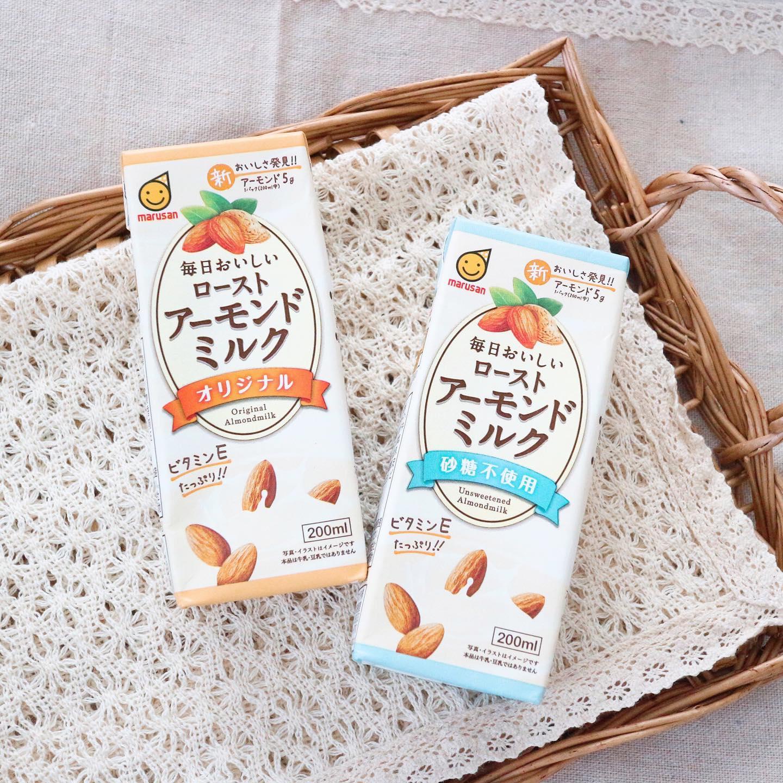 口コミ投稿:.@marusanai_official.マルサンの毎日おいしいローストアーモンドミルクを飲んでみま…