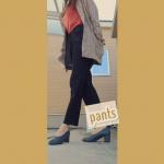 pants style🤎🤎ブラックスキニーは1本あると着回しできるから重宝しますね🍀履きやすくて、ストレッチあり☀裏起毛だから暖かいの🌈だけど着膨れしないのがGood🤎…のInstagram画像