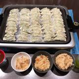 今日の晩ご飯は羽根付き餃子の画像(2枚目)
