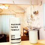 ロハコで大人気❣️の洗って使えるキッチンペーパーを使ってみました☺️💕スコッティ ウォッシャブルペーパータオル🐬ロハコをのぞくたびに気になっていた商品です❗️❗️1ロールに40カットもある…のInstagram画像