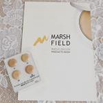 マーシュフィールド SC クリーミィタッチファンデ💕シミやクマ・ニキビ跡などの肌色のお悩みを、厚塗り感なくカバーするファンデーションです🌟滑らかなテクスチャーで、サッとひと塗りするだけ…のInstagram画像