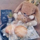 「うさぎとステラおばさんのクッキー #ぬいぐるみ #ぬい撮り」の画像(1枚目)