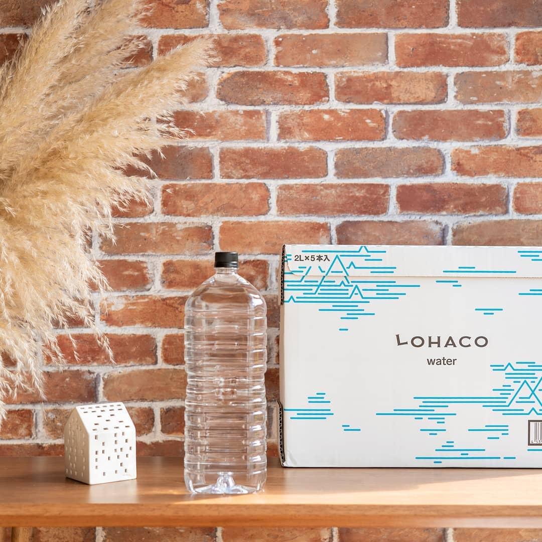 口コミ投稿:〓@lohaco.jp LOHACO限定【LOHACO Water 2L ラベルレス1箱5本入】🌱.プラスチック削減…