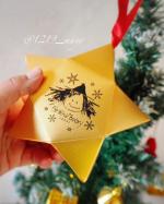 こんばんはFat Witch Bakery Japanのクリスマス限定ブラウニーオーナメントをクリスマスツリー🎄に飾ってみました🎅もうすっかりクリスマス気分👍🌹ブラウニ…のInstagram画像
