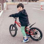 ワンプッシュ(5秒)でキックバイクから自転車にチェンジできちゃう画期的な自転車❗️ディーバイク マスタープラス/ D-Bike MASTER+ 🚲この自転車のおかげで自転車デビューしたその…のInstagram画像