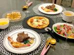 結婚記念日ごはん🥂#ラムチョップ#生ハムサラダ #ホタテのカルパッチョ #キャロットスープ #ピザ#エビのマヨネーズ焼き 息子がラムチョップ凄い勢いで食べてた…🙄#結婚…のInstagram画像
