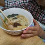 ぬくぬく〜こたつで食べる☆キンレイの鍋焼うどんの画像(2枚目)