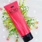 ᝰ🖋꙳⋆.JUSO KURO CLEANSING重曹クレンジングを使用しました💎重曹と炭が配合されていてお色が黒色になっています꒰ ¨̮͚ ꒱♩クレンジングと洗顔を一度…のInstagram画像