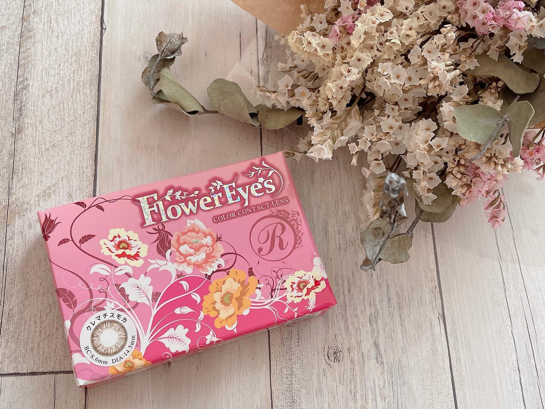 口コミ投稿:✐☡...( カラコン )#ドリームビュー FlowerEyescolor クレマチスモカBC 8.6mmDIA 14.5…