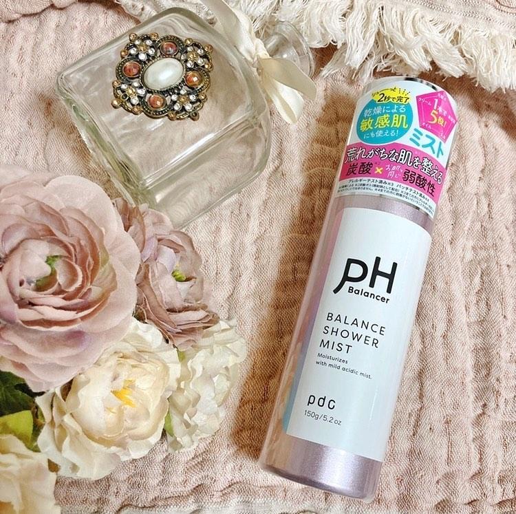 口コミ投稿:・@pdc_jp  の『PHバランサー バランスシャワーミスト🌱』1本で5役の機能♡(化粧水、…