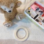 水に強い布用両面テープ 幅10mmを使ってみました。貼ってから24時間後からは、お洗濯OKな布用両面テープなのです。クリスマス準備にも重宝します!裁縫は苦手ですが、素早く裾上げ…のInstagram画像