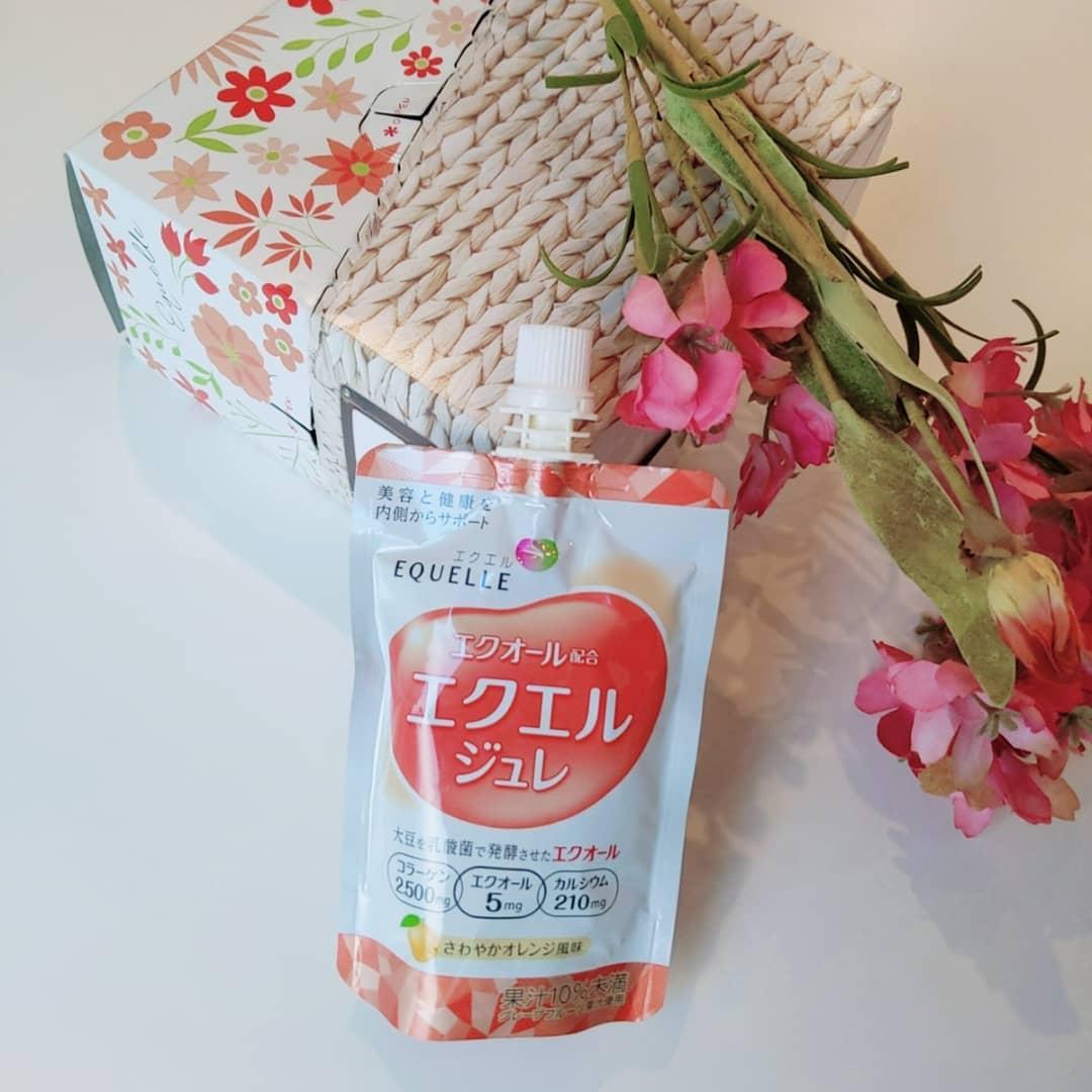 口コミ投稿:【LOHACO限定】エクエル ジュレ 6daysBOX🥤💓女性の健康と美容をサポートする大豆由来…