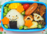 野菜盛りだくさん!ワクワク♪ 楽しめるお弁当を!