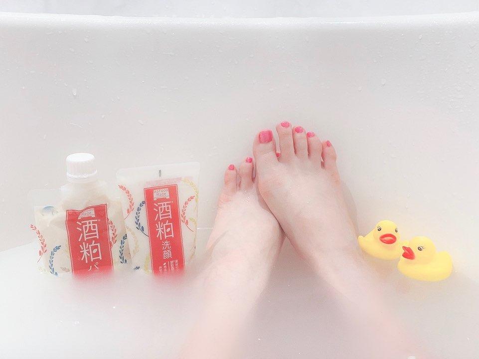 口コミ投稿:Bath Time🛁💞🐥最近はこのシリーズを使ってるよ😛💗今は酒粕シリーズ🍶♡わたしはお酒あん…