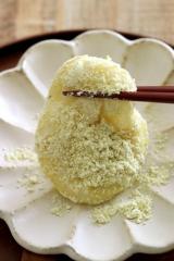 うぐいす色の国産青大豆きな粉の画像(2枚目)