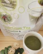 グァー豆茶を飲んでみました✨グァー豆茶って今回初めて知ったんですが、水溶性食物繊維がたっぷりと含まれているそう😌便秘や肌荒れによく、ノンカフェインなので妊婦さんや子供にも👌.お茶製…のInstagram画像