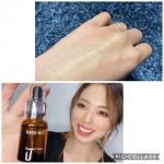 高濃度ビタミンC美容液のnatu-reCレポです╰(*´︶`*)╯♡、濃度の高い100%純粋なビタミンCが配合されている美容液とのこと!化粧水→natu‐reC 1〜2滴→乳液の順…のInstagram画像
