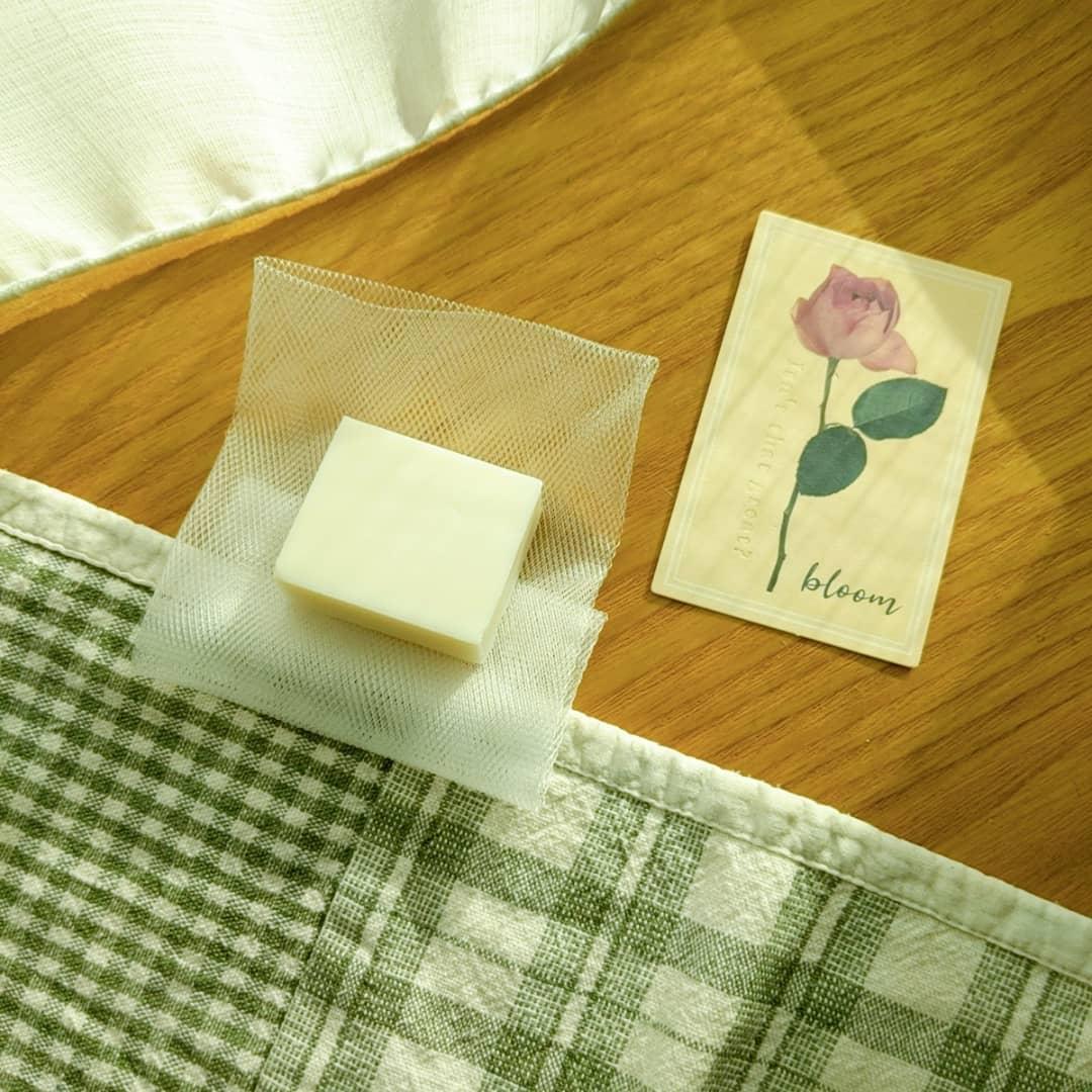 口コミ投稿:岡田石けん様の高精製オリーブオイル100%無添加石けん🧼✨とってもお肌に優しい石鹸な…