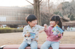 .ちょっと身長が低く心配なうちの兄さん。5歳5ヶ月なのに身長103cm妹との差が10cmを切ってしまったよ。ご飯も好き嫌いなく食べるんだけどね。今が子供の成長が加速する…のInstagram画像