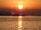 「【竹島の朝日 早起きは三文の徳】」の画像(3枚目)