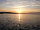 「【竹島の朝日 早起きは三文の徳】」の画像(4枚目)