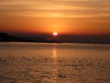「【竹島の朝日 早起きは三文の徳】」の画像(1枚目)