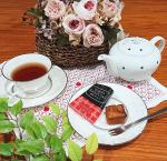 #東京りんご #フィナンシェ #コロンバン #monipla #colombin_fan #焼き菓子 #洋菓子 #おうちカフェ #カフェタイム #紅茶 #珈琲 #アップルティー #癒しの時間 #休憩タ…のInstagram画像
