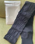 メディレギンス国産、日本製の着圧レギンスです。足首からヒップまで下半身をフルサポート。美脚、美尻、骨盤ケア。寝ている間に下半身の引き締めや温めることができむくみの解消や脂肪燃焼促進…のInstagram画像