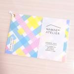 ナマエノアトリエ(@namaenoatelier)様のお名前マステシールをご紹介致します✩*⋆.注文した名前がプリントされているマスキングテープ素材のシールブックです(ˊᵕˋ).文房具…のInstagram画像