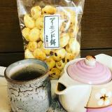 「もち吉★食べやすいひと口サイズの【アーモンド餅】」の画像(2枚目)