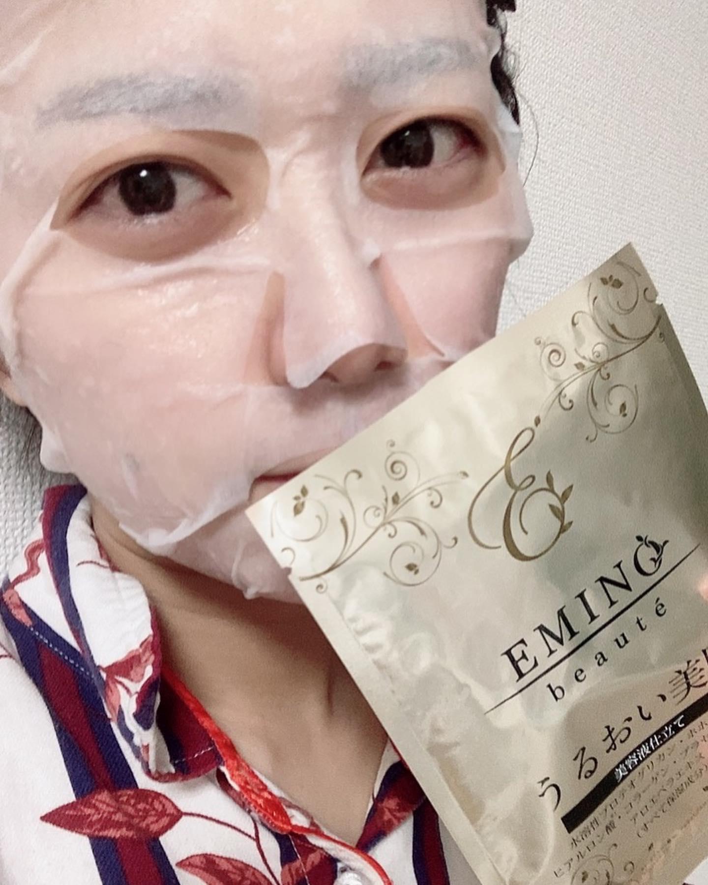 口コミ投稿:エミーノボーテ モイスチャーリッチフェイスマスク使ってみました!みなさん最近お…