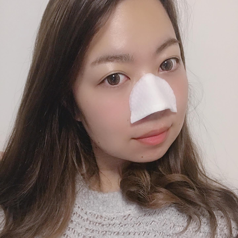 口コミ投稿:忙しい朝に洗顔の代わりに拭き取り洗顔【ポアノ】簡単に顔全体拭き取って、半分にし…