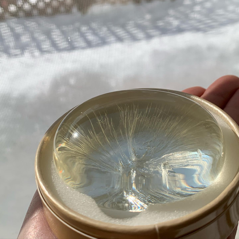 口コミ投稿:2021.1.25(月)朝の日差しにキラッと光る透明感✨(株)ハーベス 様の『メトラッセ ジ…