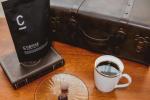 .毎日コーヒーを飲むのが日課。前から気になっていた『C_COFFEE』に変えてみたよ。このコーヒーはダイエットサポートしてくれるの☕️初めて淹れた時にまず色に驚いた‼︎とても黒…のInstagram画像
