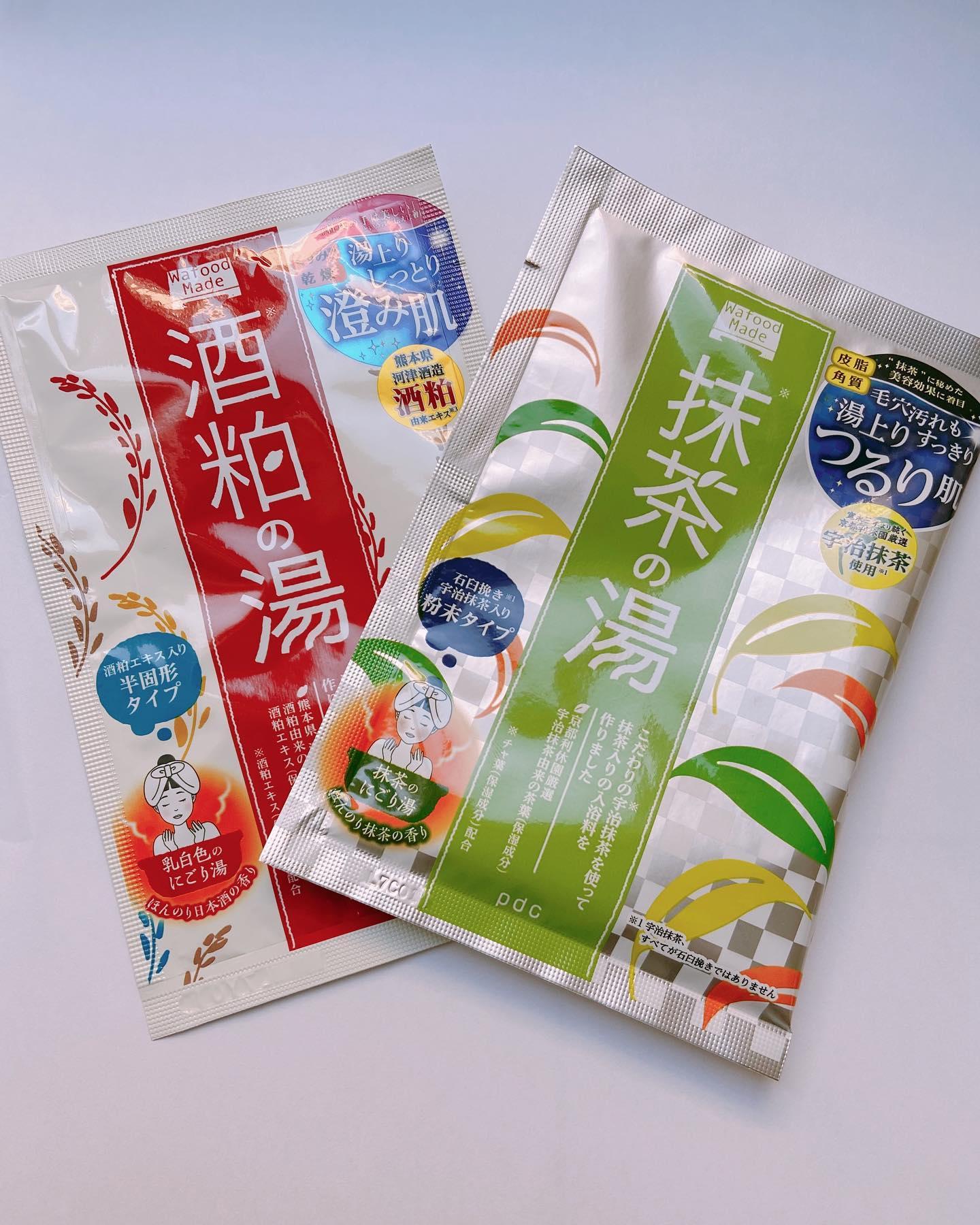 口コミ投稿:pcd様のワフードメイド抹茶の湯.酒粕の湯香りも良く癒されます。スキンケア用品のワ…