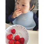 ◡̈ 𝟸𝟶𝟸𝟷.𝟷.𝟽昨日リールにのせたいちご🍓🤍使ってるお皿は @donebydeer_japan サマです🐘✨#男の子ベ…のInstagram画像