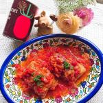 *・*・*・*・*・.南イタリアの太陽をたっぷり浴びて育った完熟トマト100%LOHACO限定 トマト缶 🍅.🍅イラストがかわいいデザイン缶ホールタイプ&ダイス状にカット…のInstagram画像