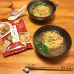 「まるさん ふりだし」で、天ぷらそばとお味噌汁を作りました。美味しい!Ho preparato il tempura soba e la zuppa di miso con のInstagram画像