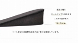 低身長モデル田中亜希子さんと共同開発されたインソール!の画像(3枚目)