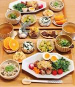 𓅿✎豚こまのねぎだれがけ( @mizuki_31cafe さんレシピ)✎ひじき混ぜご飯( @fujishokuhin 様から頂いたもの)✎とろろ昆布のお味噌汁✎しらすとワ…のInstagram画像