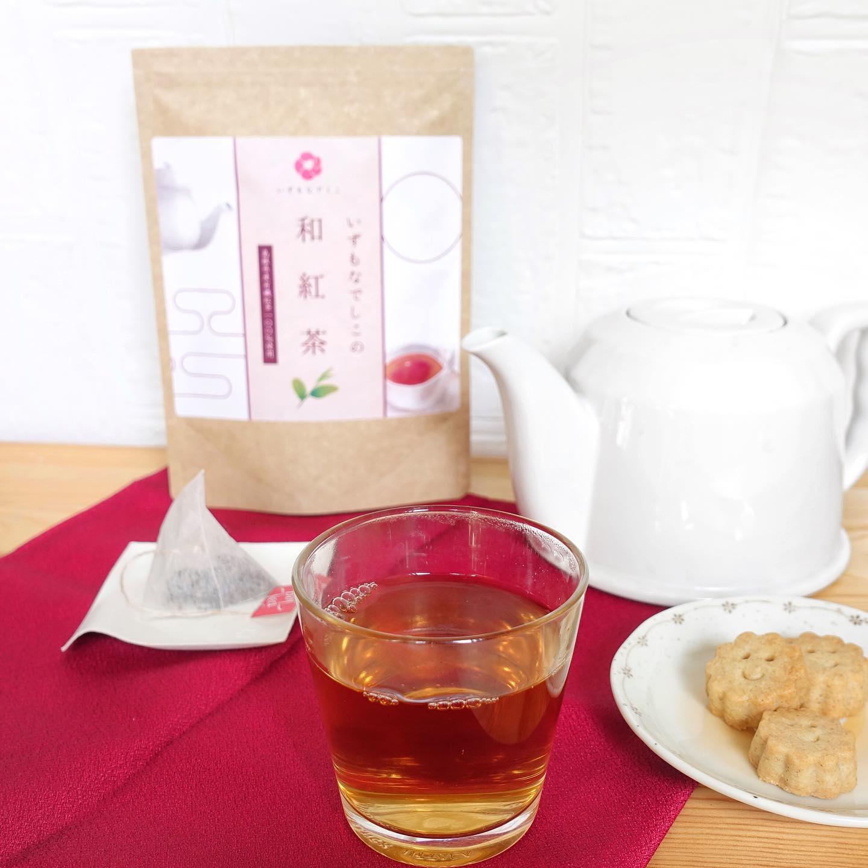 口コミ投稿:島根県産の国産茶葉を使って国内で加工したいずもなでしこの日本紅茶 和紅茶.海外の…