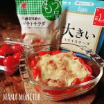 今日のお昼はこれにしたよ💖ワーママの強いミカタ‼️@yamazaki_sozai 様からもう一品シリーズの北海道男爵のポテトサラダをお試しさせてもらったの🎁クリーミーなポテ…のInstagram画像