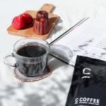 C coffee ☕︎何度もリピしている大好きなコーヒー@c_coffee_official炭のパウダーが入っているコーヒーだけど、炭感ゼロのおいしいコーヒー❣️炭の高…のInstagram画像