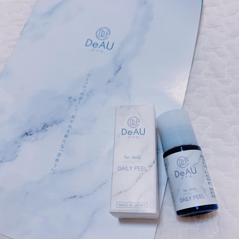 口コミ投稿:DeAU デイリーピール洗顔後、いつものスキンケアの前に肌になじませて使う導入美容液…