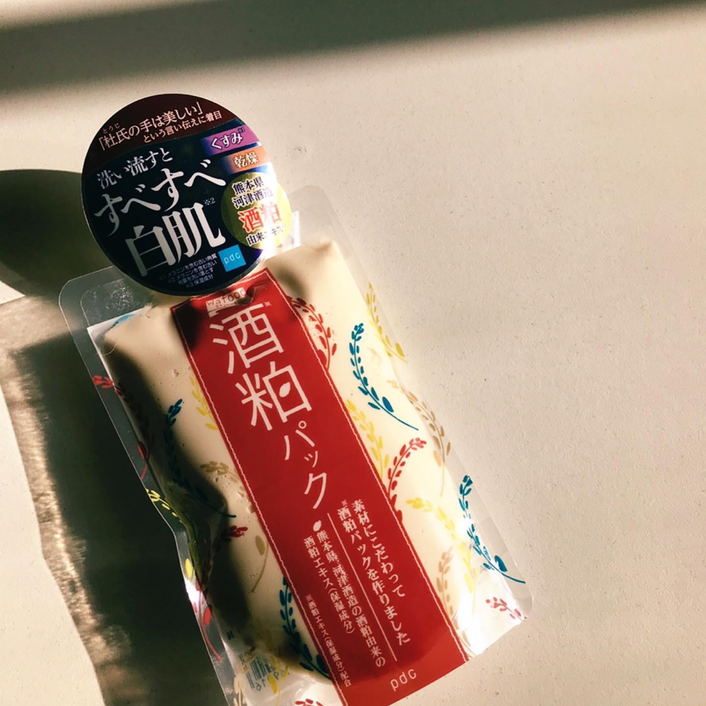 口コミ投稿:ワフードメイド 酒粕パック@pdc_jp素材にこだわって作ったすべすべ白肌へ導く洗い流…