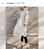 T-ASSACのお洋服の中でこのお洋服がめちゃくちゃ欲しい😂絶対綺麗系でもカジュアルにも合う👏見かけた瞬間欲しい欲がとまらない(笑)#tassac #assacdenim #assac…のInstagram画像