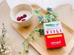 ホームメイド・ヴィーリ✨牛乳に加えるだけで簡単にヴィーリが作れます!ヴィーリとはフィンランドで人気の発酵乳です。ヨーグルトとは少し違うみたいです?ヴィーリの乳酸菌がつくる食物繊…のInstagram画像