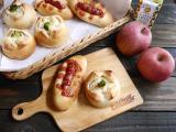 「ヤマザキのポテトサラダで作ったお惣菜パン」の画像(1枚目)