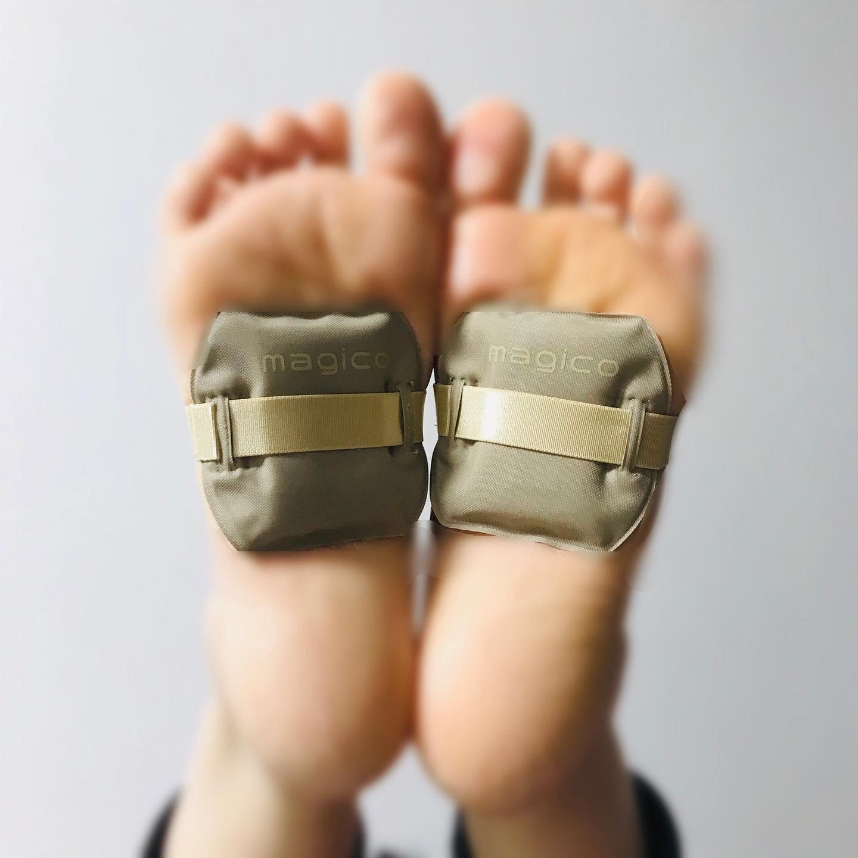 口コミ投稿:magico マグソール足裏専用の磁気インソール🦶多数の磁力線が血行を促進し、コリを緩…