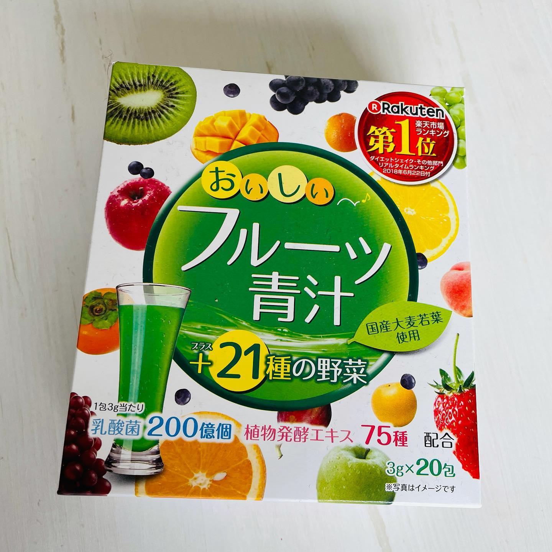 口コミ投稿:❄️おいしいフルーツ青汁 アップルマンゴー味最近青汁ブーム☺️✨やっぱり体のために野…